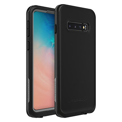 LifeProof Fre Waterproof Case for Samsung Galaxy S10 - Asphalt Black